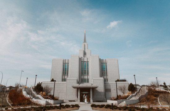 calgary temple, calgary LDS wedding