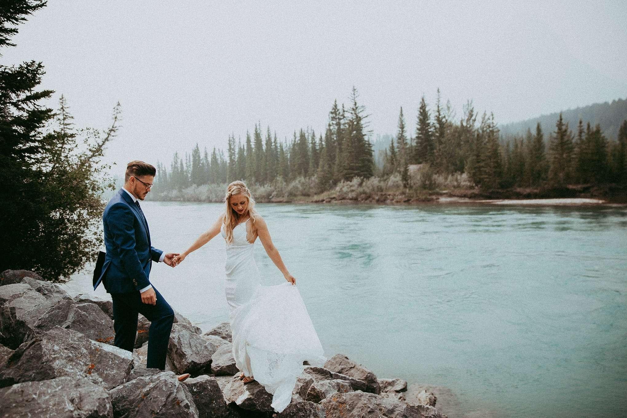 camore train bridge, canmore engine bridge, camore wedding photographers