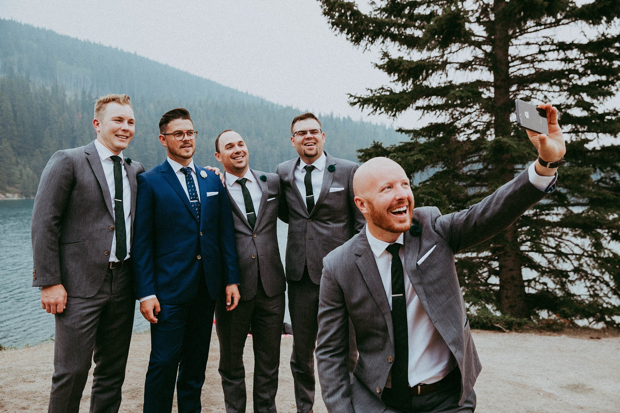 two jack lake, two jack lake wedding, banff photographer, banff photographers, banff wedding, banff wedding photographers